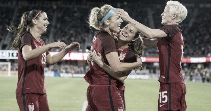 U.S. women's soccer caps 2017 with 3-1 victory over Canada