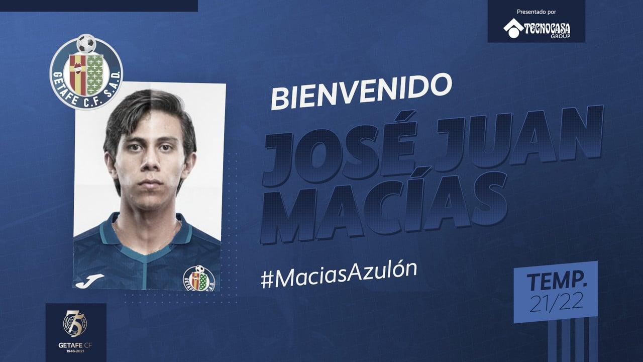 J.J Macías presentado como nuevo jugador azulón