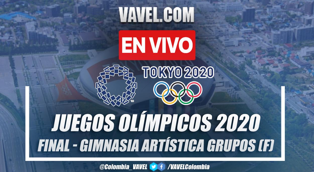 Resumen: final de gimnasia artística femenina por equipos en Tokio 2020