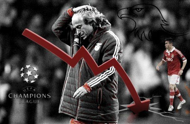 Benfica de Jesus não nasceu para aguentar a «Champions»