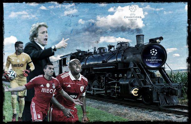 Benfica cada vez mais atrasado para apanhar comboio milionário