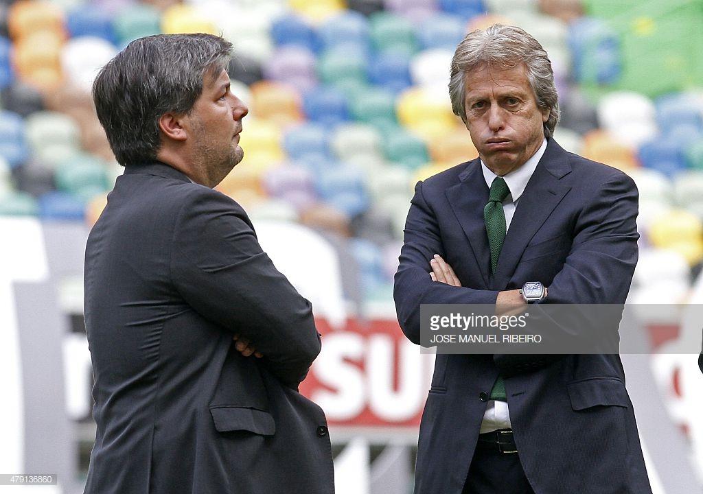 """Jorge Jesus acusa Bruno de Carvalho: """"Mentiu em tribunal"""""""