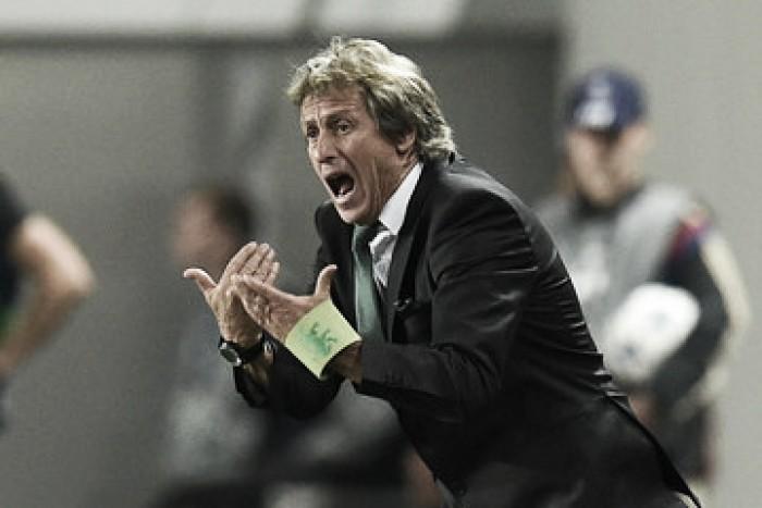"Jorge Jesus: ""Entramos bien y jugamos bien"""