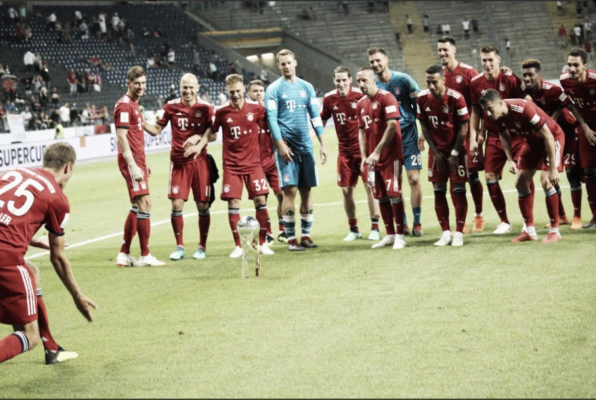Goleada bávara para imponerse en la Supercopa