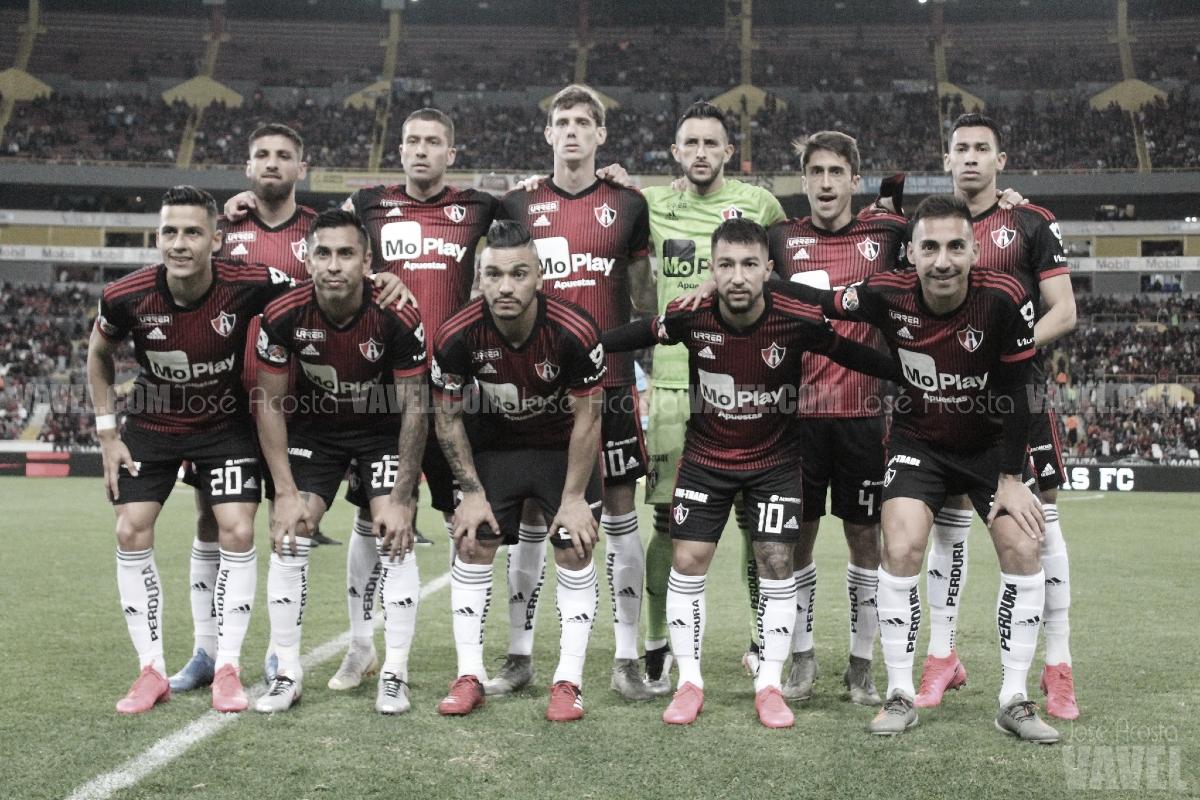 Puntuaciones de los Rojinegros: Santos 1 - 0 Atlas, Jornada 8 Clausura 2020