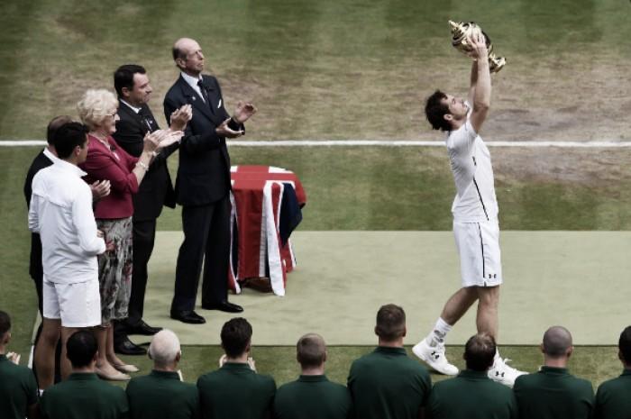 Andy Murray vence Milos Raonic e conquista Wimbledon pela segunda vez na carreira