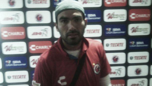 """Jehu Chiapas: """"El equipo va a pelear por los primeros lugares"""""""