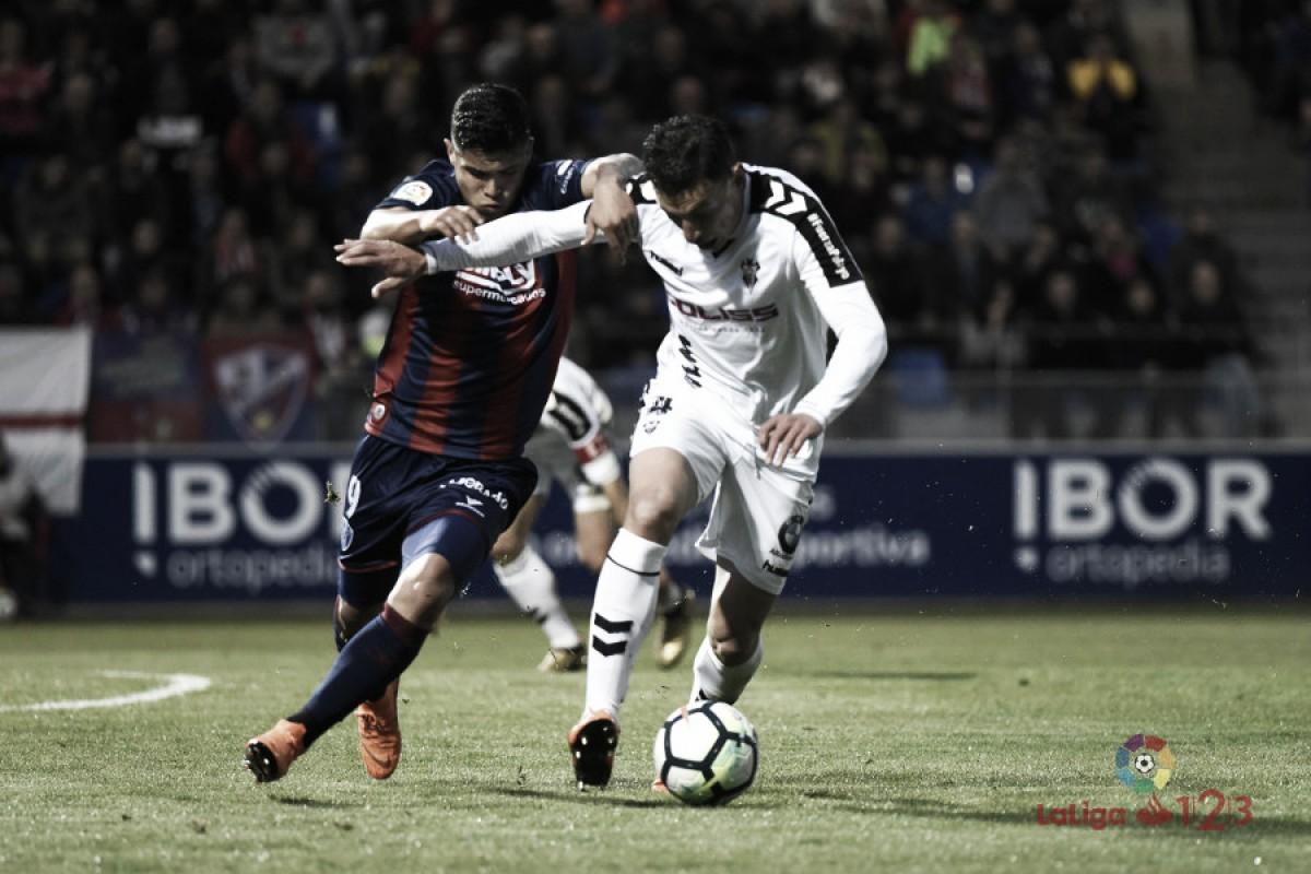 SD Huesca y Albacete firman tablas en un partido muy disputado