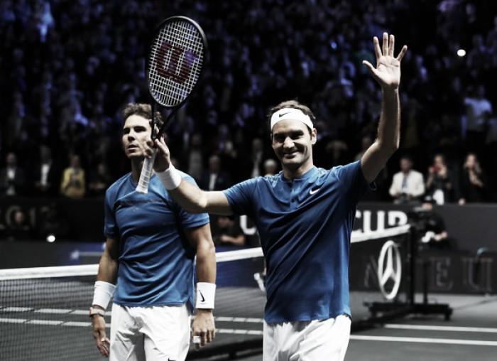 Nadal y Federer hacen historia