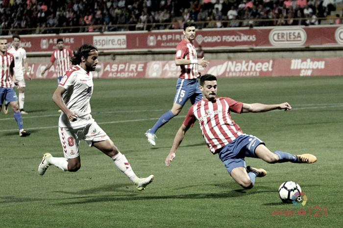Cultural Leonesa - Real Sporting: puntuaciones del Sporting de Gijón, jornada 9 de La Liga 1 2 3