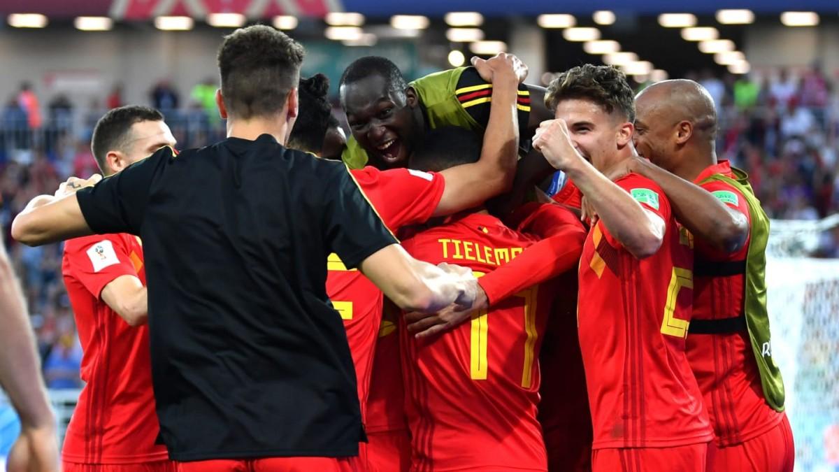 Bélgica se quedó con el liderato del grupo G