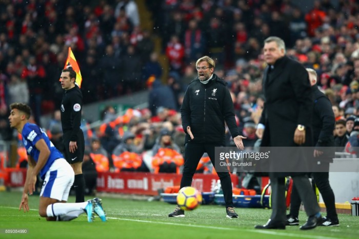 It wasn't a penalty, says Klopp as Rooney spot-kick frustrates Liverpool