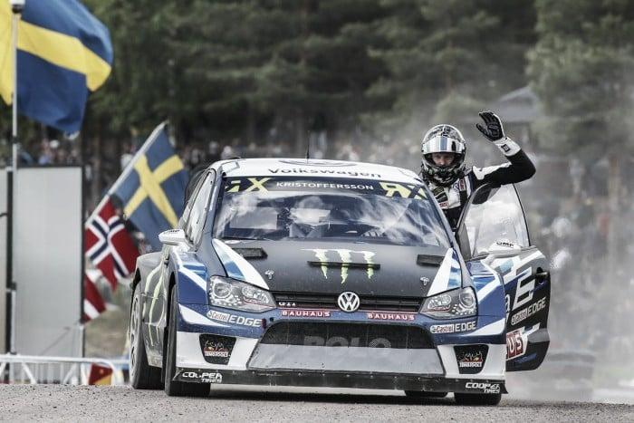 Johan Kristoffersson vence etapa sueca do Mundial de Rallycross