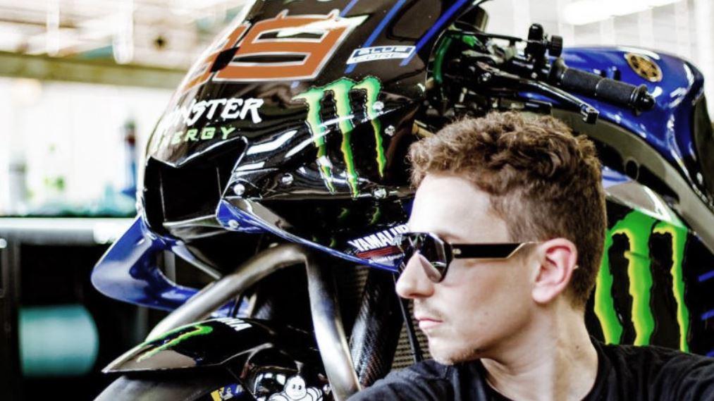 Jorge Lorenzo feliz con su decisión de ser piloto probador de Yamaha