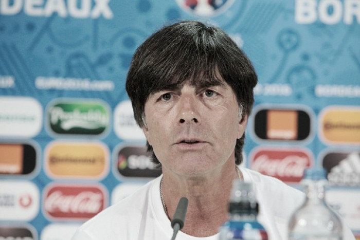 Löw keeps his cards close to his chest ahead of Italy encounter