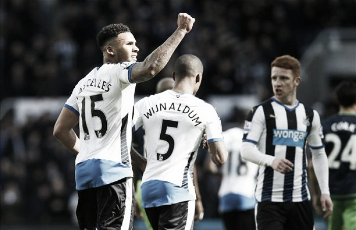 Newcastle United 3-0 Swansea City: Swans sink without trace after sorry showing