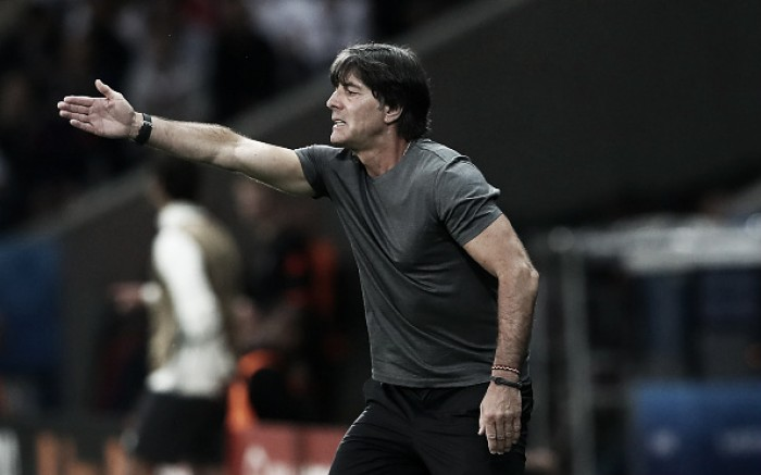 Löw praises pleasing performance as Germany get opening game win
