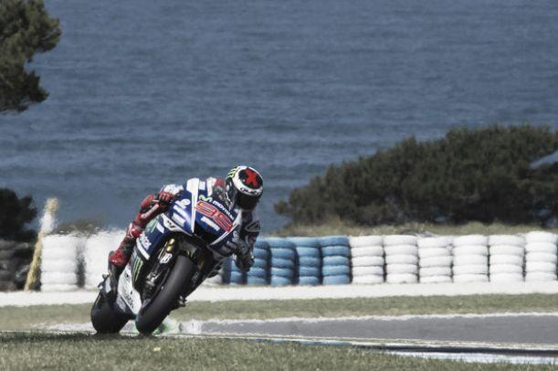 Phillip Island, Jorge Lorenzo in testa anche nel terzo turno di libere