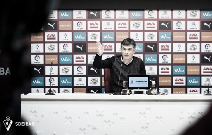 """Mendilibar: """"Hemos sufrido bastante hasta que les hemos metido el tercero"""""""