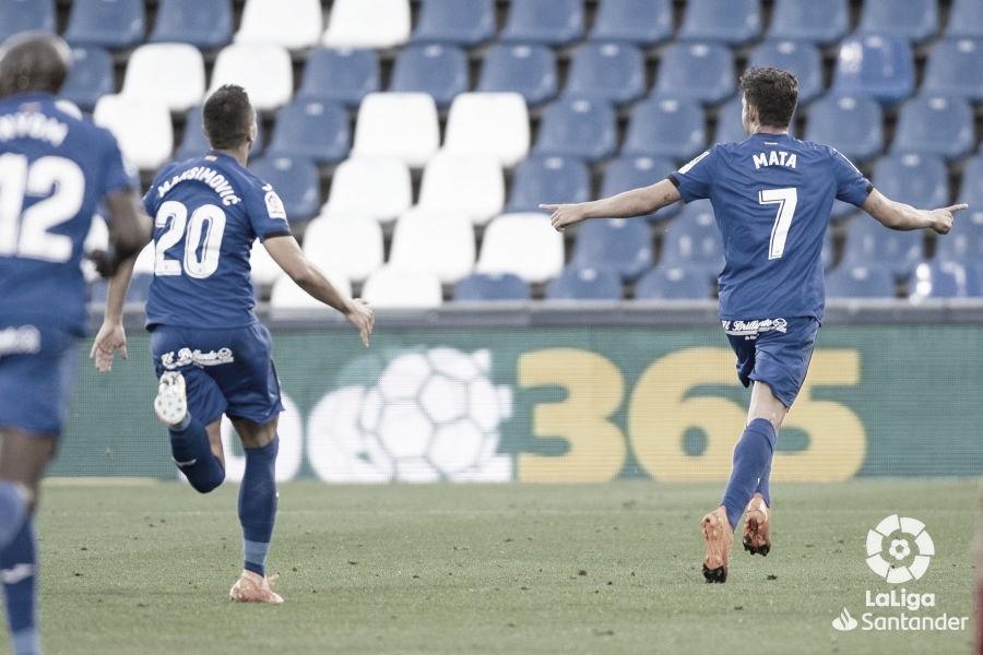 Jaime Mata, el máximo goleador del Getafe
