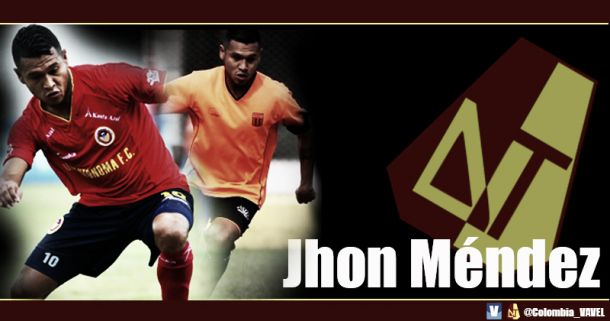 """Jhon Méndez: """"Vengo a esta familia a aportar todo mi talento"""""""