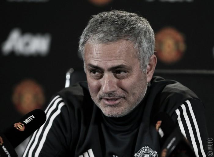 """Mourinho: """"Las expectaciones aquí son muy altas"""""""