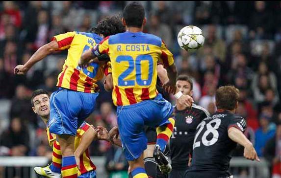 Bayern de Múnich - Valencia: puntuaciones del Valencia