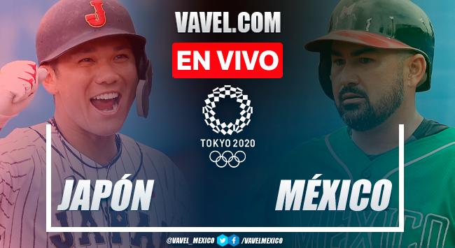 Resumen y carreras: México 4-7 Japón en béisbol por Juegos Olímpicos 2020