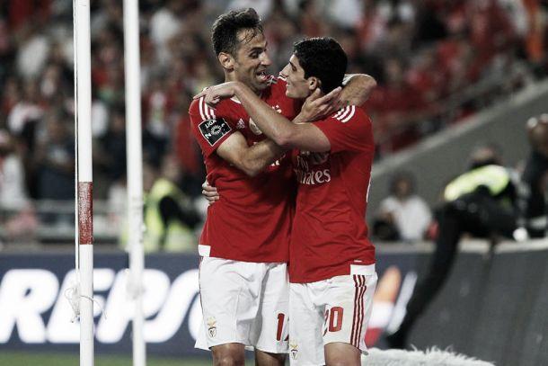 Dupla Guedes-Jonas faz a diferença: Benfica de regresso às vitórias