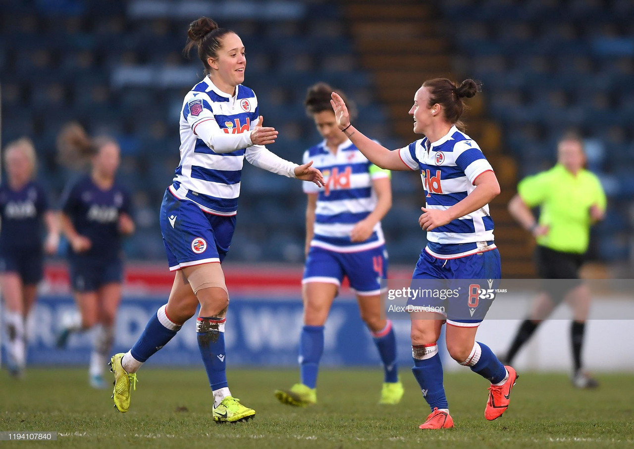 Large-scale change within Reading FC Women