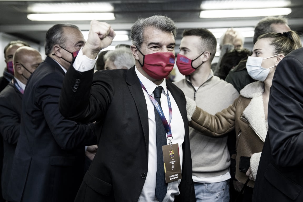 Joan Laporta, nuevo presidente del Barça