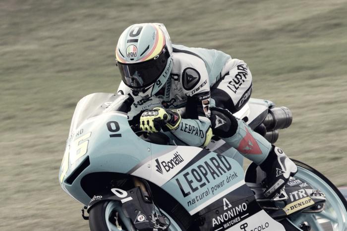Jornada ajustada y sin incidentes en Moto3