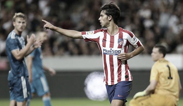 Joao Félix en la celebración de un gol / Foto: Atlético de Madrid