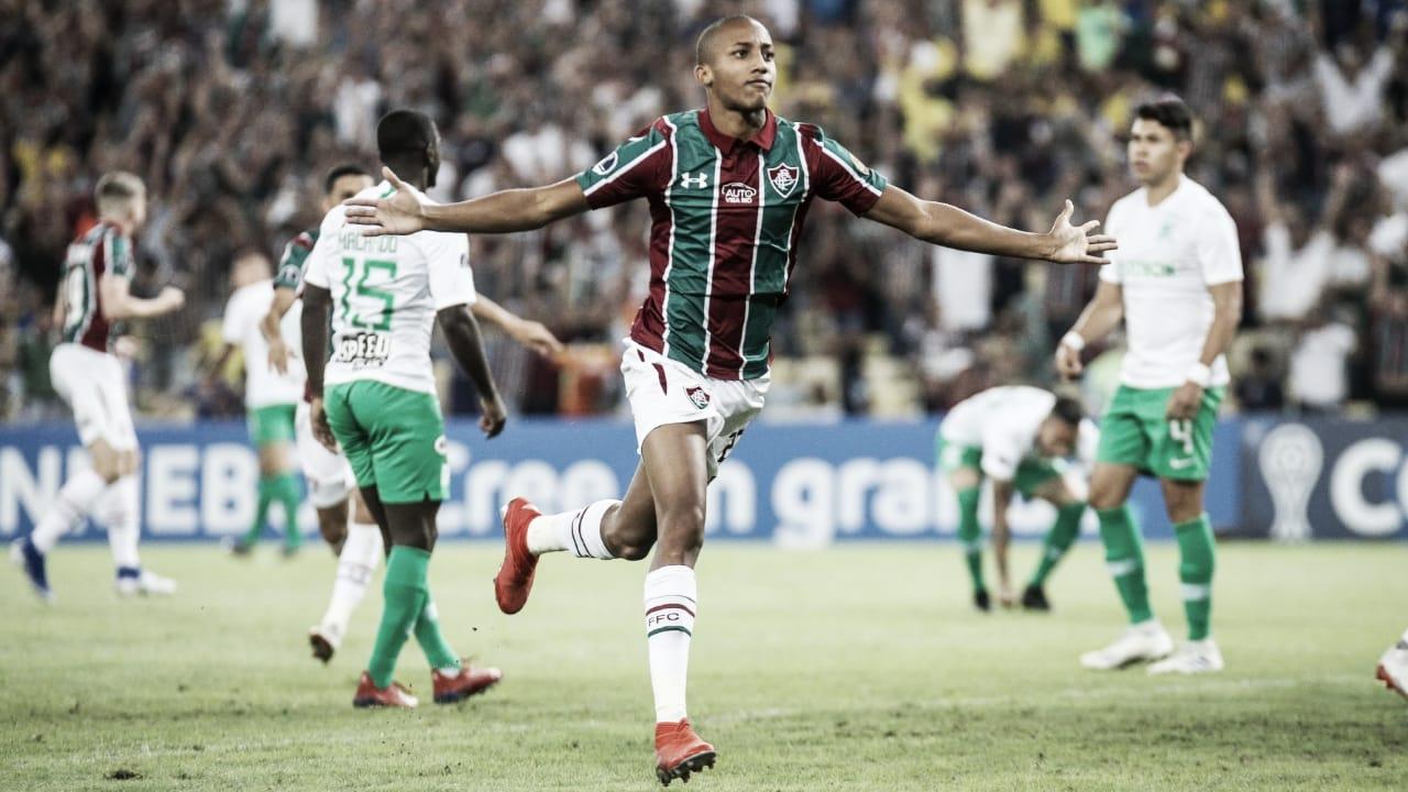 Com show de João Pedro, Flu goleia Atlético Nacional e abre boa vantagem na Sul-Americana