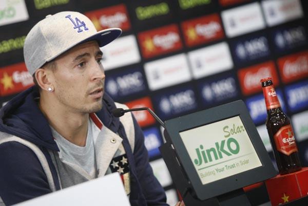 "Joao Pereira: ""No podemos bajar la cabeza"""