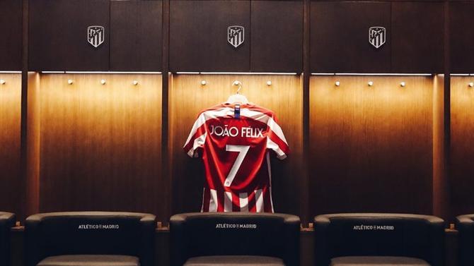 Oficial: João Félix no Atlético de Madrid
