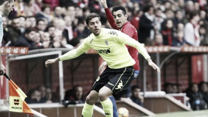 Real Sporting - Córdoba CF: puntuaciones del Córdoba CF, jornada 21 de LaLiga 1,2,3
