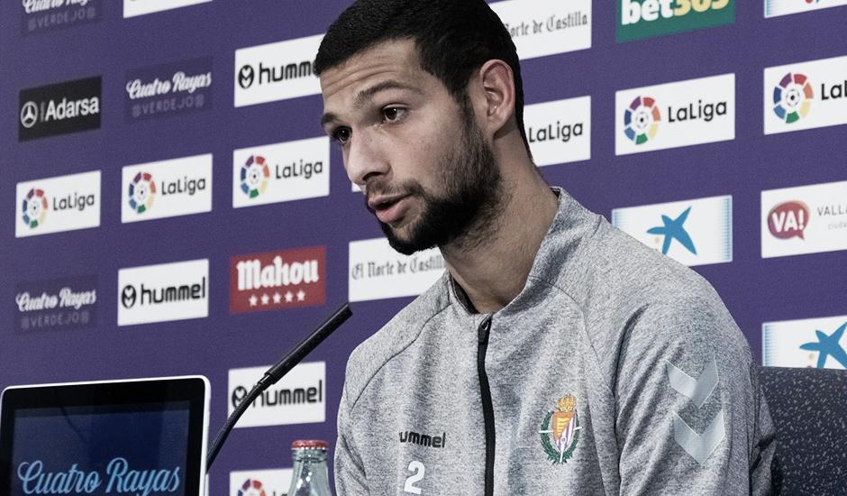 """Joaquín Fernández: """"Quiero hacer un buen partido para poder sumar los tres puntos"""""""