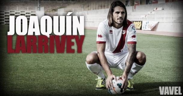 Joaquín Larrivey, presentado como nuevo jugador del Rayo Vallecano