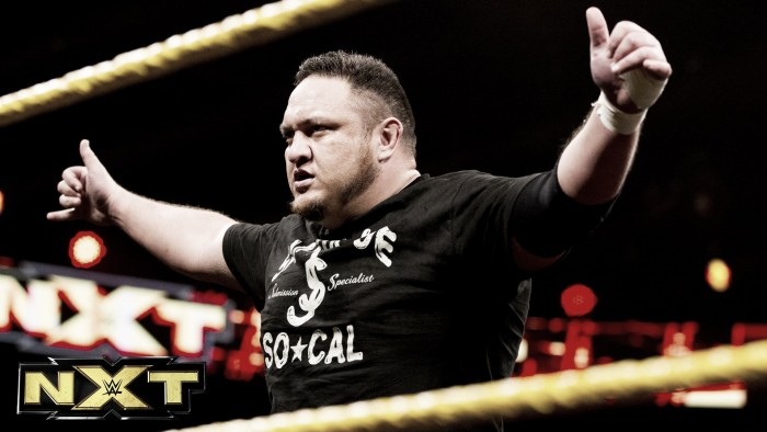 Future plans for Samoa Joe