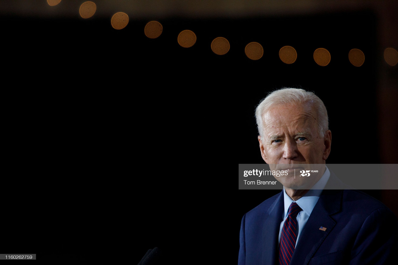 Joe Biden may find solace in his basement