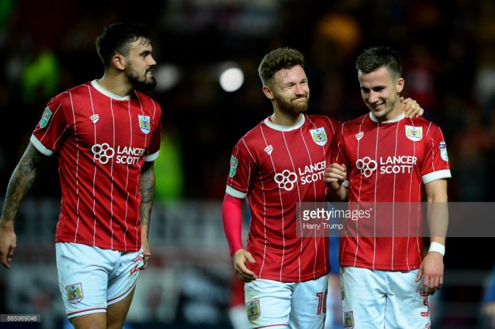 Bristol City 2-1 Middlesbrough: Robins up to third after late scare at Ashton Gate
