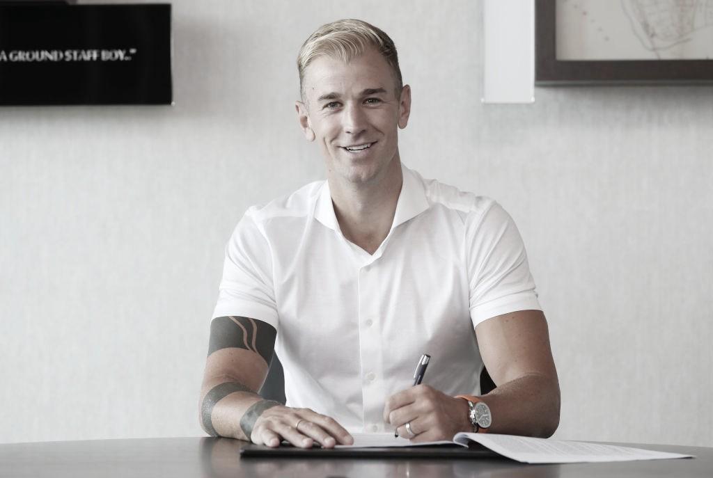 Ex-Manchester City, Joe Hart é anunciado no Tottenham
