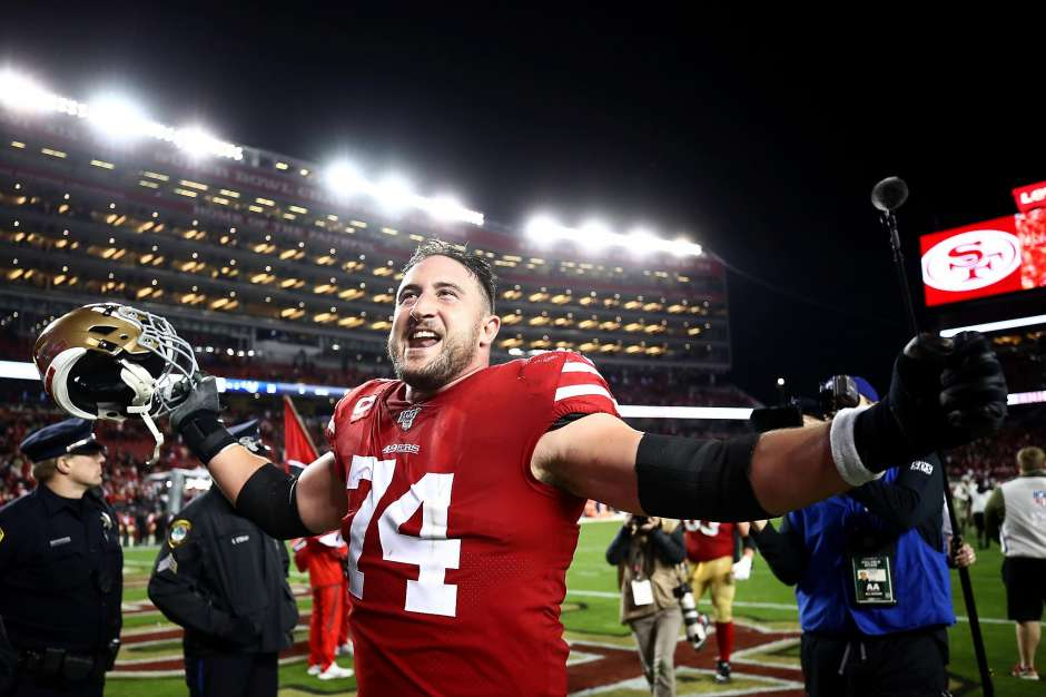 San Francisco 49ers left tackle Joe Staley retires after 13 seasons