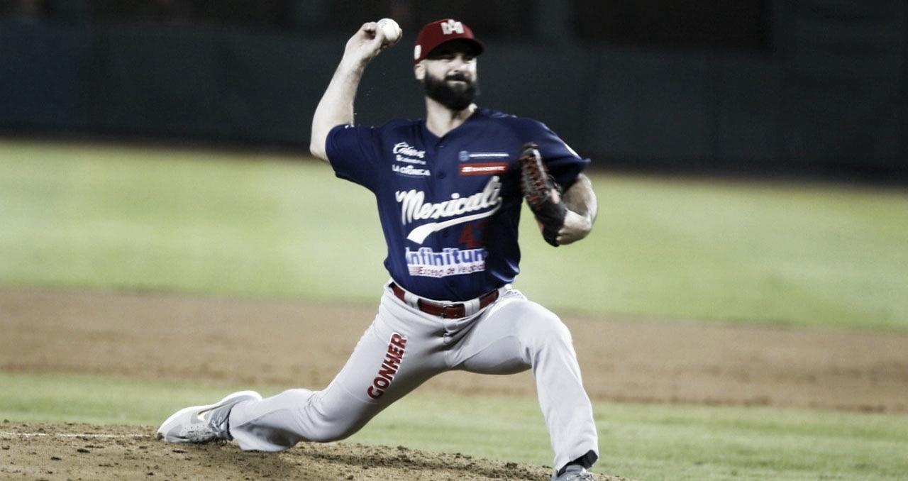 Destaca pitcheo de Águilas para igualar la serie en Culiacán