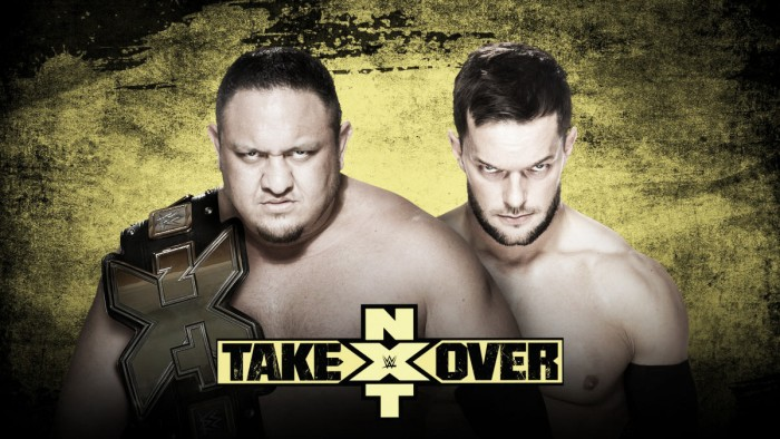 Stipulation added to Samoa Joe - Finn Balor NXT Takeover rematch