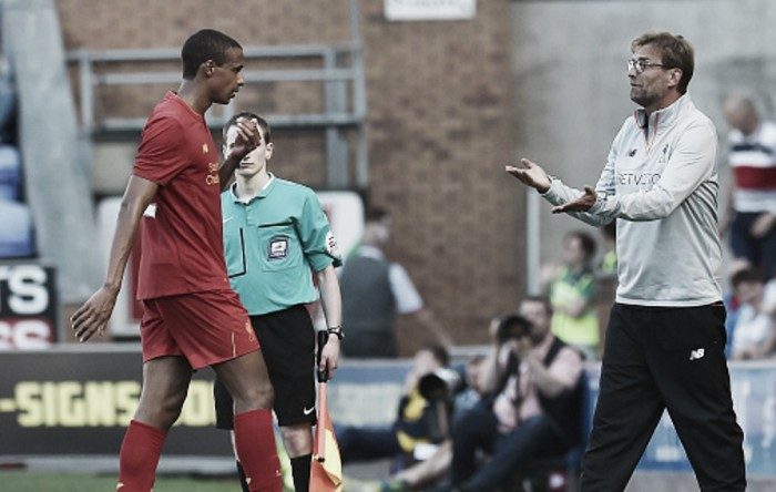 "Joel Matip's knock ""only a minor problem"", hopes Jürgen Klopp"