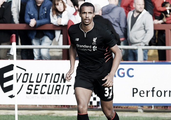 "Liverpool defender Joel Matip says he signed for the club to ""play against the best"""