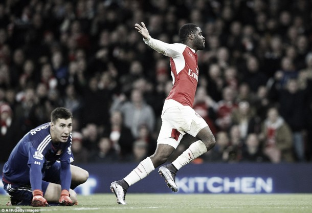 Can Joel Campbell cement a starting spot with Arsenal?