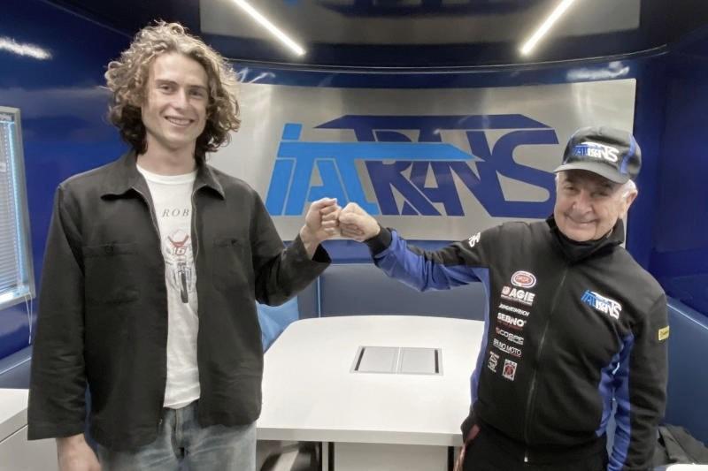 Con esta imagen se ha confirmado el acuerdo entre el equipo italiano y Roberts. Imagen: MotoGP
